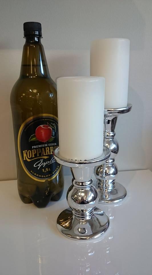 cider och ljus